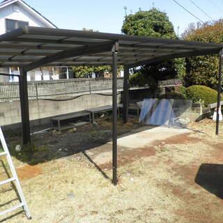 カーポート・テラス解体・古くなった屋根の張替など・・・・・