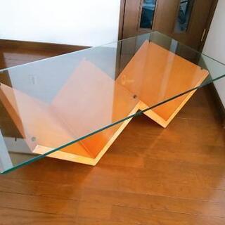 デザインガラステーブル