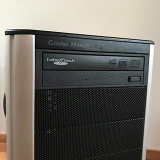 パソコンケースATXMiddleタワー