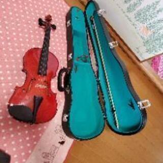古いバイオリン 40年前に購入したもの