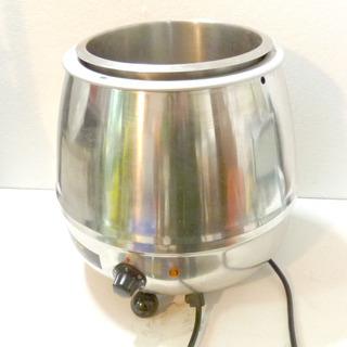 蓋欠品 湯煎式スープジャー 業務用 スープウォーマー 9L ビュ...