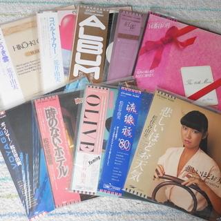 ニューミュージックや電子音楽のLPレコード40枚くらい