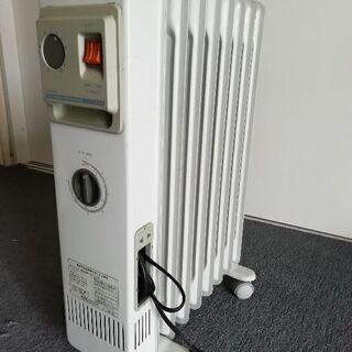 オイルラジエターヒーター 問題なく動きますが古い? 年代不明。