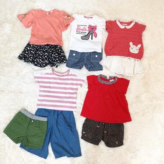 ◆女の子用◆夏物トップス&ボトムスまとめ売り◆80㎝