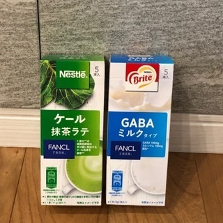 ネスレ ファンケル ケール抹茶ラテ、GABAミルク