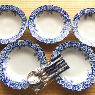 スープ皿 5枚セット 〈未使用品〉
