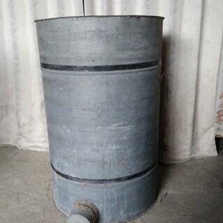 昭和レトロ 籾貯蔵缶