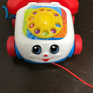 Fisher Price の黒電話風おもちゃ