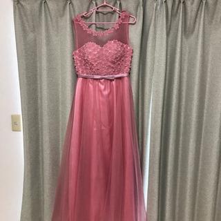 値下げ ロングドレス ピンク
