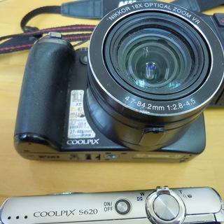 ジャンク扱いカメラ3台