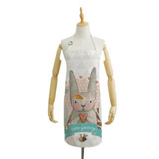【可愛いウサギのエプロン】手拭きタオル付き!