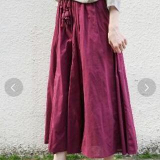●LEPSIMコットンボイルロングスカート 未使用