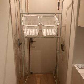 取引中 洗濯機ラック ドラム式用