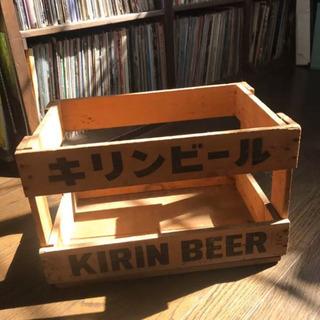 木箱 ビール ケース キリンビール 骨董 レトロの画像