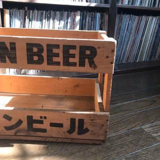 木箱 ビール ケース キリンビール 骨董 レトロ - 売ります・あげます