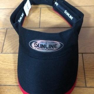 サンライン SUNLINE  新品未使用 キャップ黒 帽子