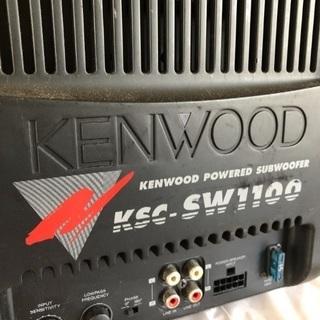 KENWOOD ケンウッド KSC-SW1100 サブウーハー