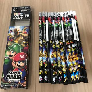 【新品】2B鉛筆1ダース スーパーマリオ 12本セット 三菱鉛筆