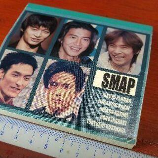 SMAPのメモ帳 めっちゃ古い((´∀`)) 未使用 汚れが少し...