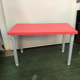 多目的テーブル☆82777POPな赤の机