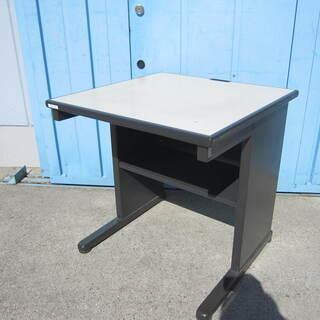 事務机 平デスク W700 ブラック