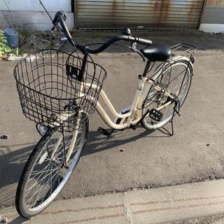 自転車◆ベージュ◆26インチ◆市内配送可能!!
