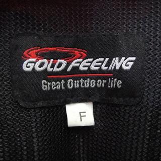 GOLD FEELING ゴールドフィーリング ライフジャケット フリーサイズ 救命胴衣 フィッシングベスト - その他
