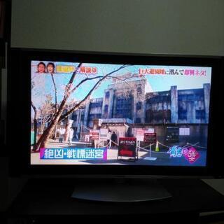 42型プラズマテレビ(テレビ台・リモコン付)