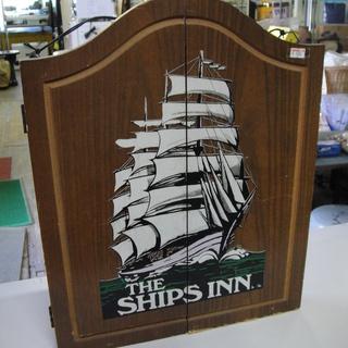 ダーツボード&ダーツセット THE SHIPS INN. …