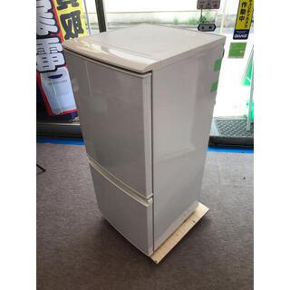 【🐢最大90日補償】SHARP 2ドア冷凍冷蔵庫 SJ-14W-...
