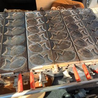 たい焼き機 (1度にたくさん焼ける鯛焼き機です) 業務用