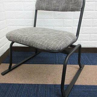 ss1081 スチール製 回転椅子 ブラック×ブラウン パーソナ...