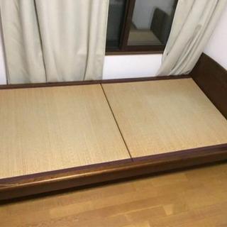 畳 シングル ベッド 解体済