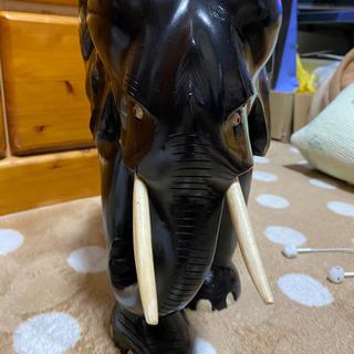 象の置き物 - 呉市