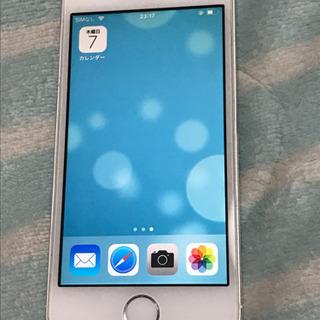 iPhone5S シルバー 16G