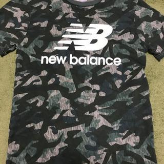 ニューバランス Tシャツ  迷彩 訳あり
