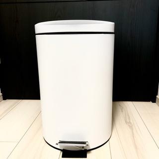 ゴミ箱 足踏み 蓋付き ドラム缶/空き缶