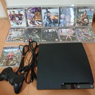 PlayStation 3+ゲームソフト12本