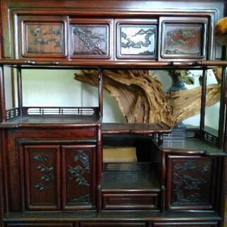 飾り棚 茶箪笥 和風家具