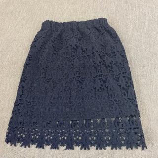 レーススカート黒