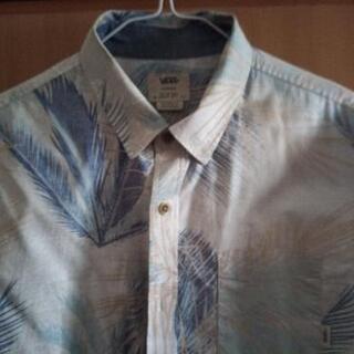 ⑤アロハシャツ かりゆしウェア VANS XS