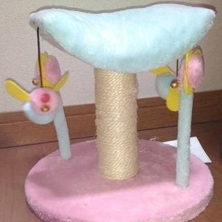 仔猫用タワー(お店で買うと100円以上の今が旬のオマケ付き)