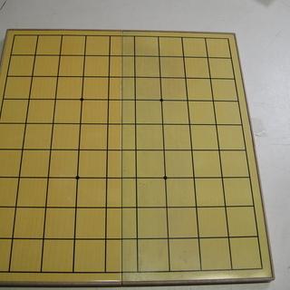 折りたたみ将棋盤マグネット付き駒セット 娯楽