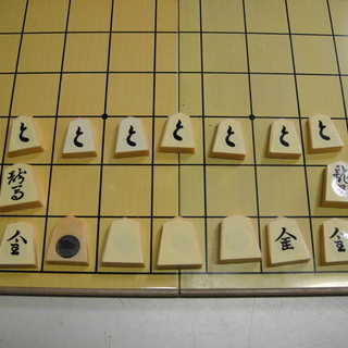 折りたたみ将棋盤マグネット付き駒セット 娯楽  - おもちゃ