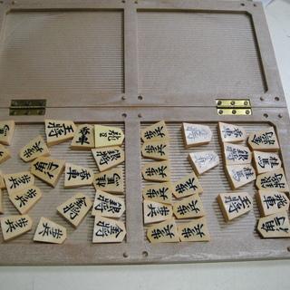 折りたたみ将棋盤マグネット付き駒セット 娯楽  − 北海道