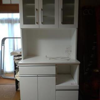 食器棚 幅90cm キッチンボード 5ヶ月使用 ニトリ