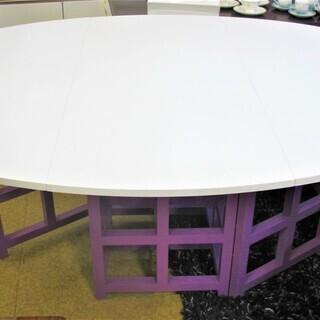 アパレル店で使用されていた 伸長式テーブル 幅54~最大177c...
