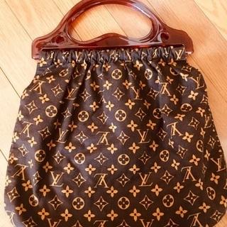 【美品】ヴィトンの布製バッグ