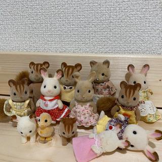 シルバニアファミリー 人形 お家系 家具類セット