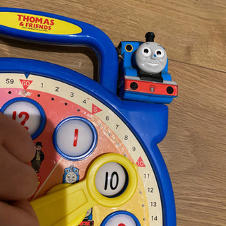 トーマス 知育玩具 時計を覚えられるおもちゃ - おもちゃ